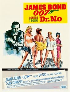 Dr No Movie Poster