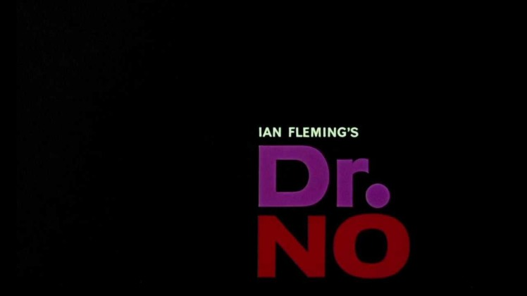 Dr No Movie Title Sequence