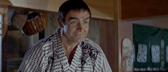 Sean Connery You Only Live Twice Japanese