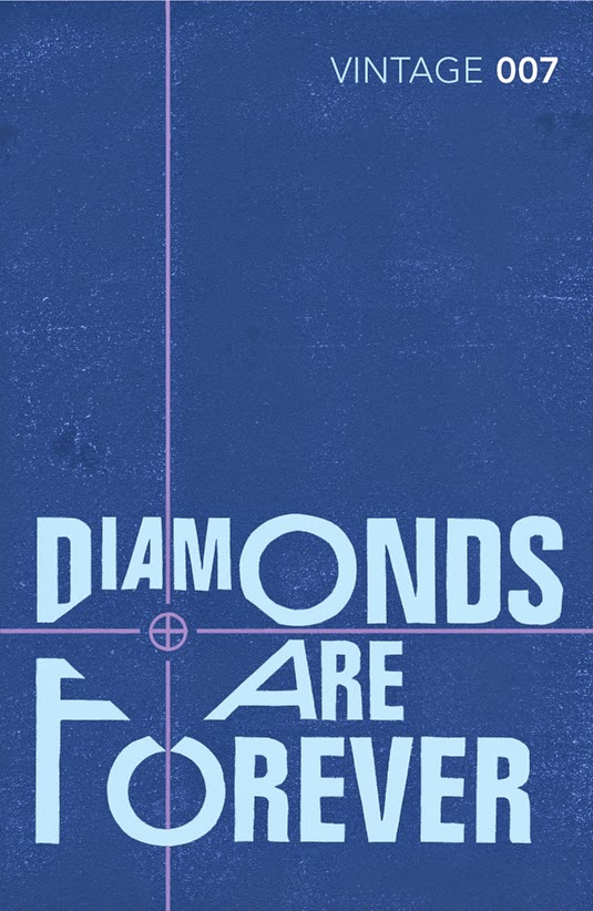 Old Book Cover Quotes : The bond movie series diamonds are forever supposedly fun