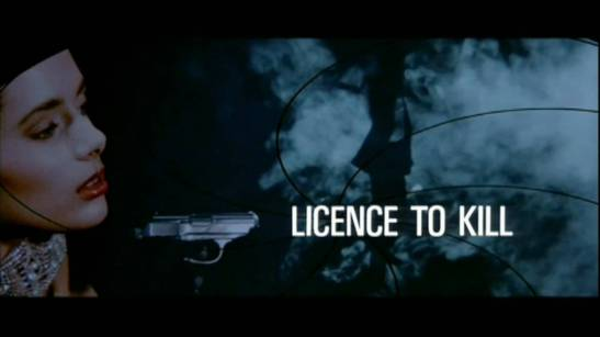 Licence to Kill Title