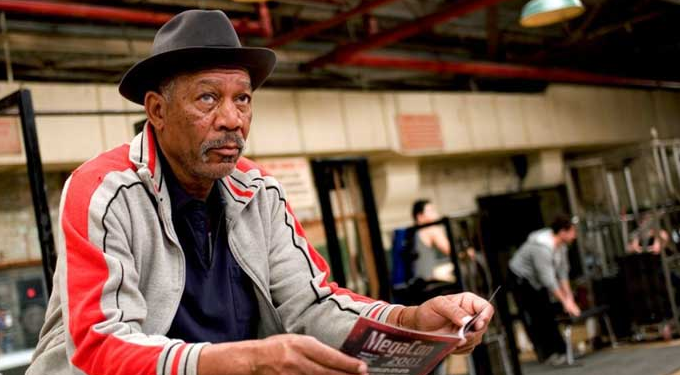 Morgan Freeman-Million Dollar Baby