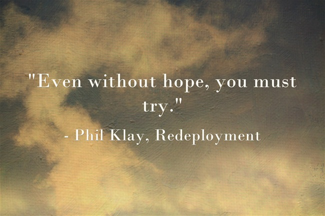 Phil Klay Redeployment Quote