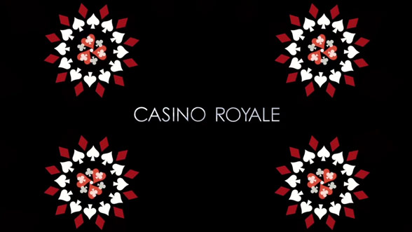 casino royale opening sequence