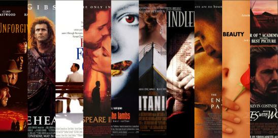 Every Best Picture Oscar Winner of the 1990s