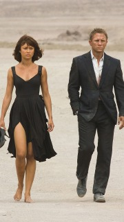 Camille and James Bond