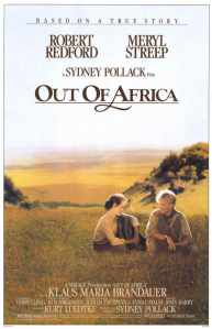 Out of Africa Movie