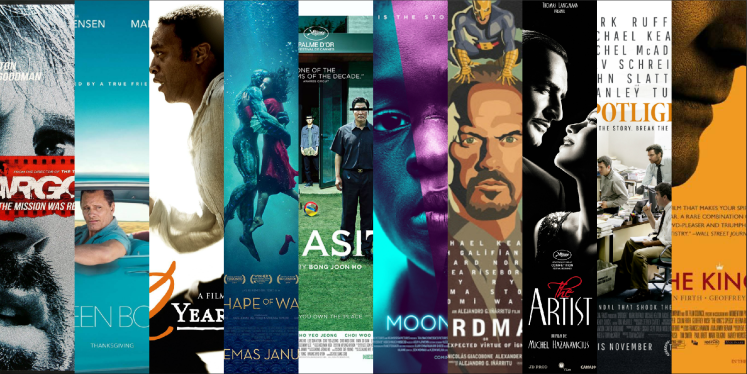 Best Picture Oscar Winners of the 2010s