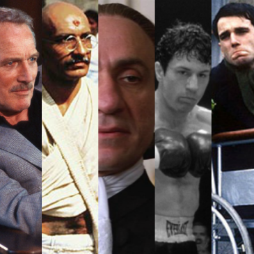 Best Actor Oscar Winners of the 1980s