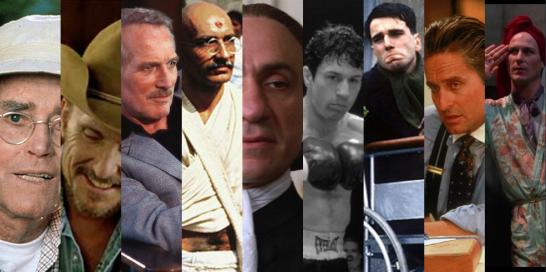 Best Actor Oscar Winners of the 1980s
