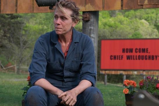 Frances McDormand Three Billboards Outside Ebbing Missouri