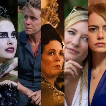 Best Actress Oscar Winners of the 2010s