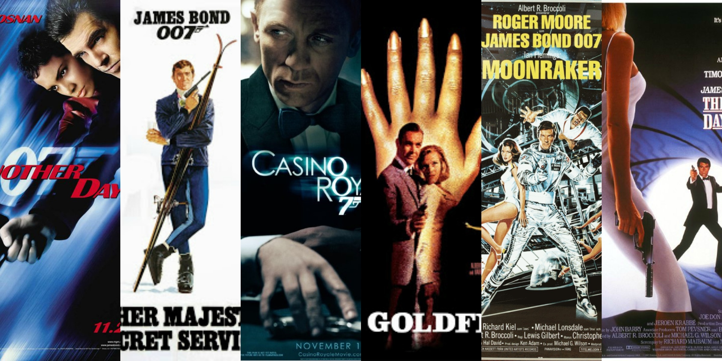 every james bond movie listed and ranked � supposedly fun
