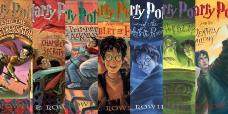 Image result for harry potter series