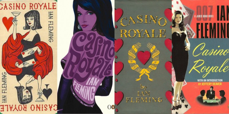 Casino Royale Book Covers