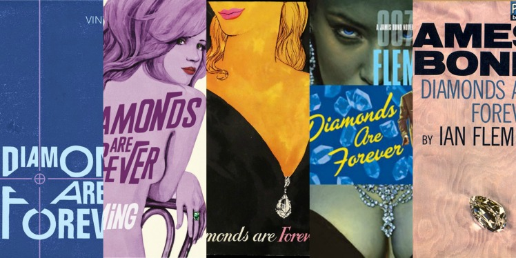 Diamonds Are Forever Book Covers