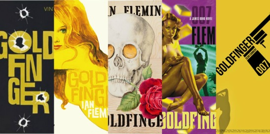 Goldfinger Book Covers