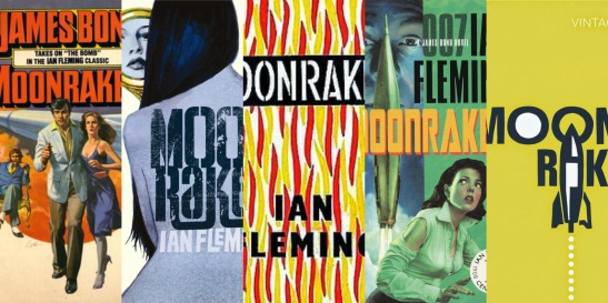 Moonraker Book Covers
