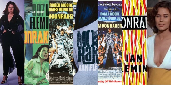 Moonraker Book vs Movie