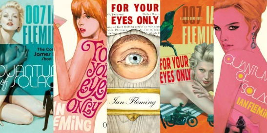 For Your Eyes Only Book Covers