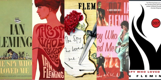 The Spy Who Loved Me Book Covers