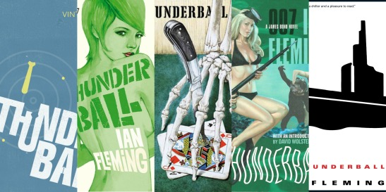 Thunderball Book Covers