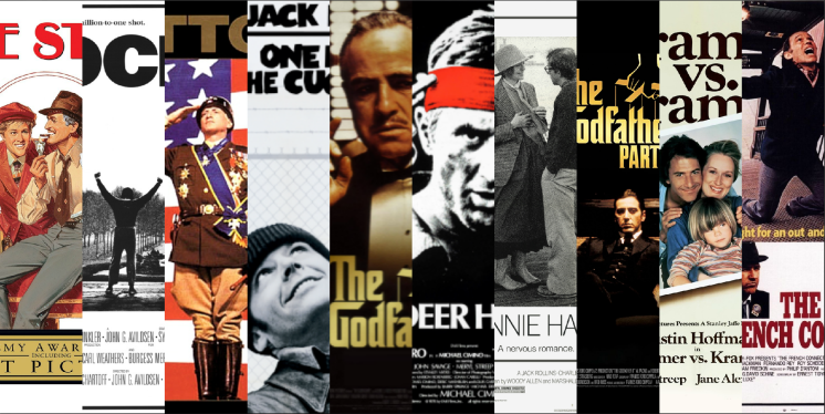 Best Picture Oscar Winners of the 1970s