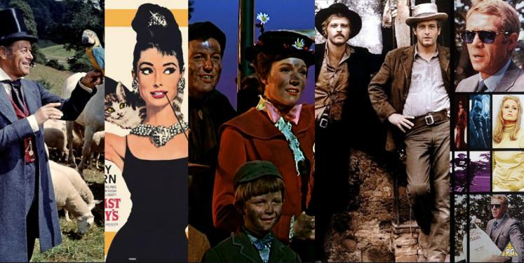Best Original Song Oscar Winners 1960s