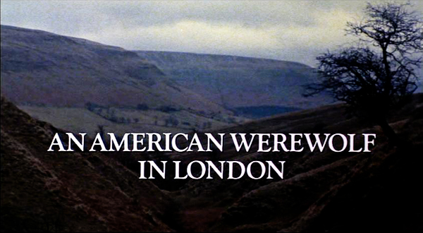 An American Werewolf in London Title Card