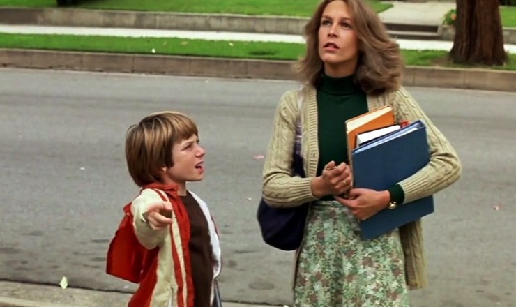 Halloween 1978 Laurie Strode and Tommy Doyle