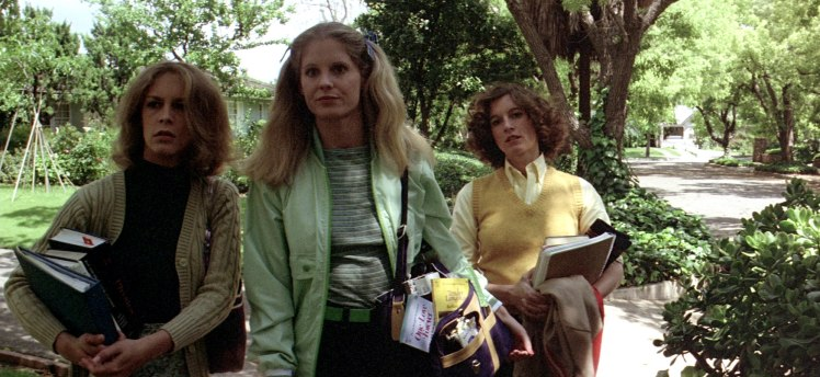 Halloween 1978 Laurie Strode with Annie and Lynda