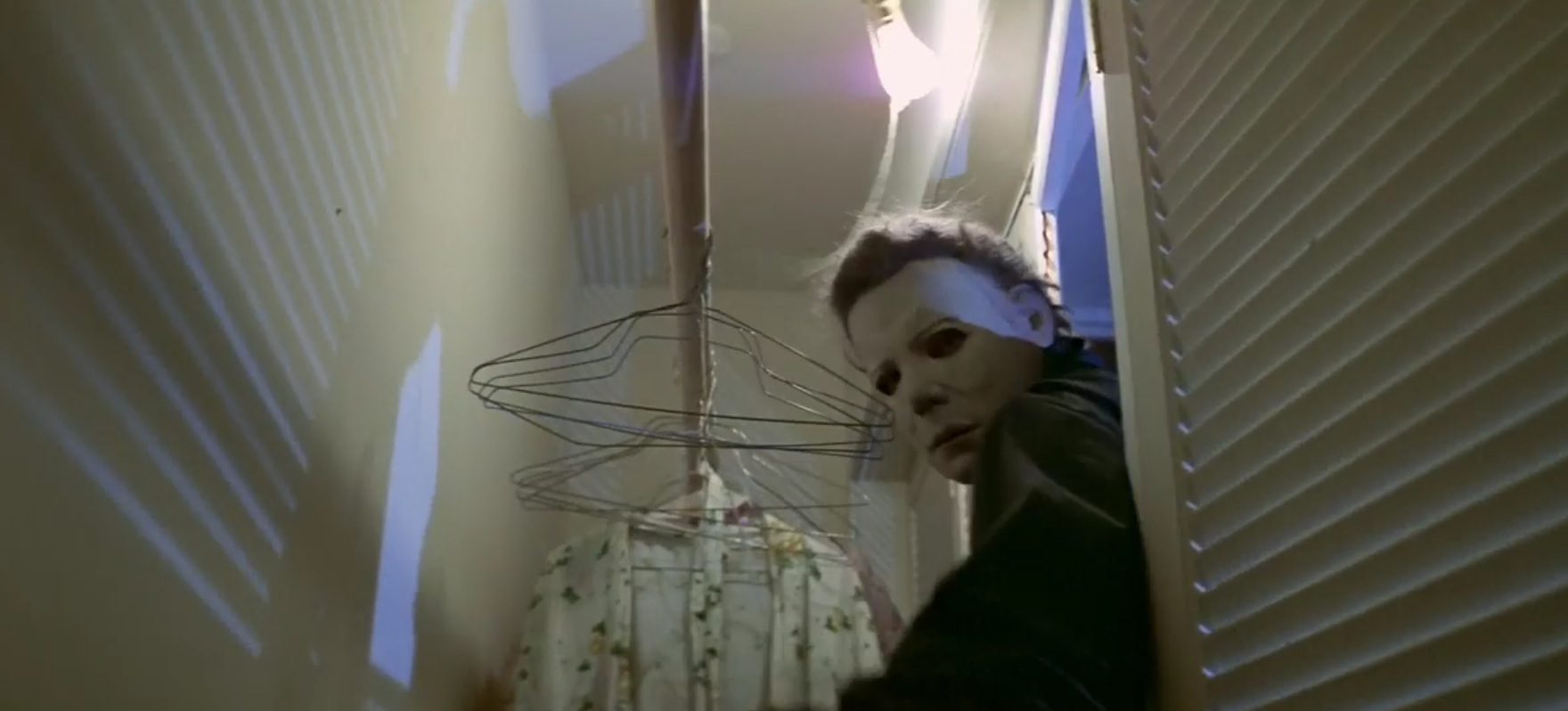 Halloween 1978 Michael Myers in the closet