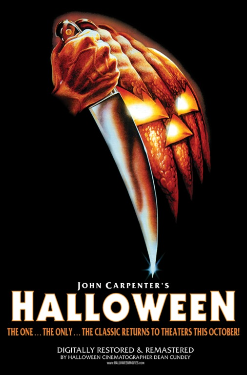Halloween 1978 Movie Poster.Scary Movie Review Halloween Supposedly Fun