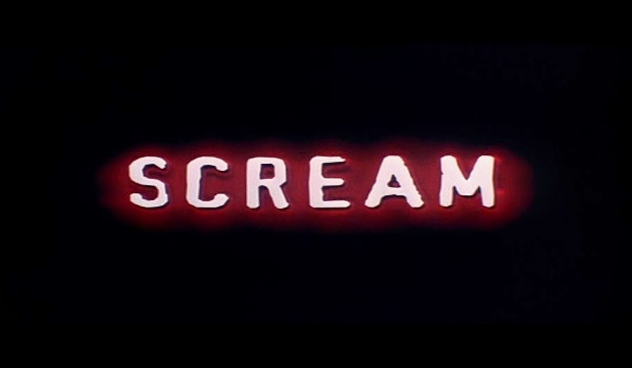 Scream Movie Title Card