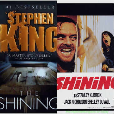 The Shining book and movie comparison