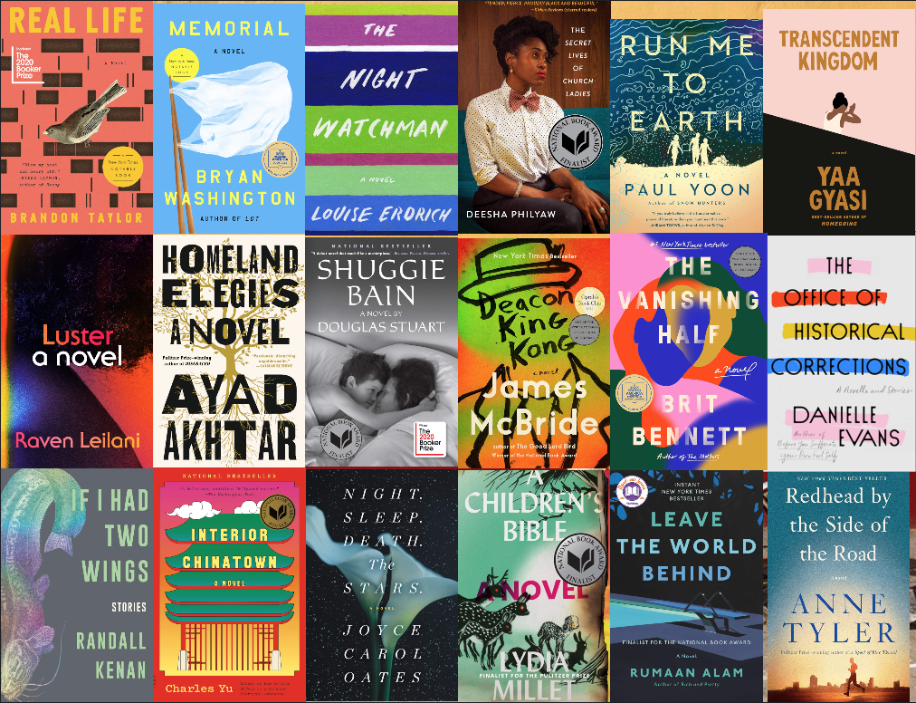 Pulitzer Prize for Fiction Contenders 2020 and 2021